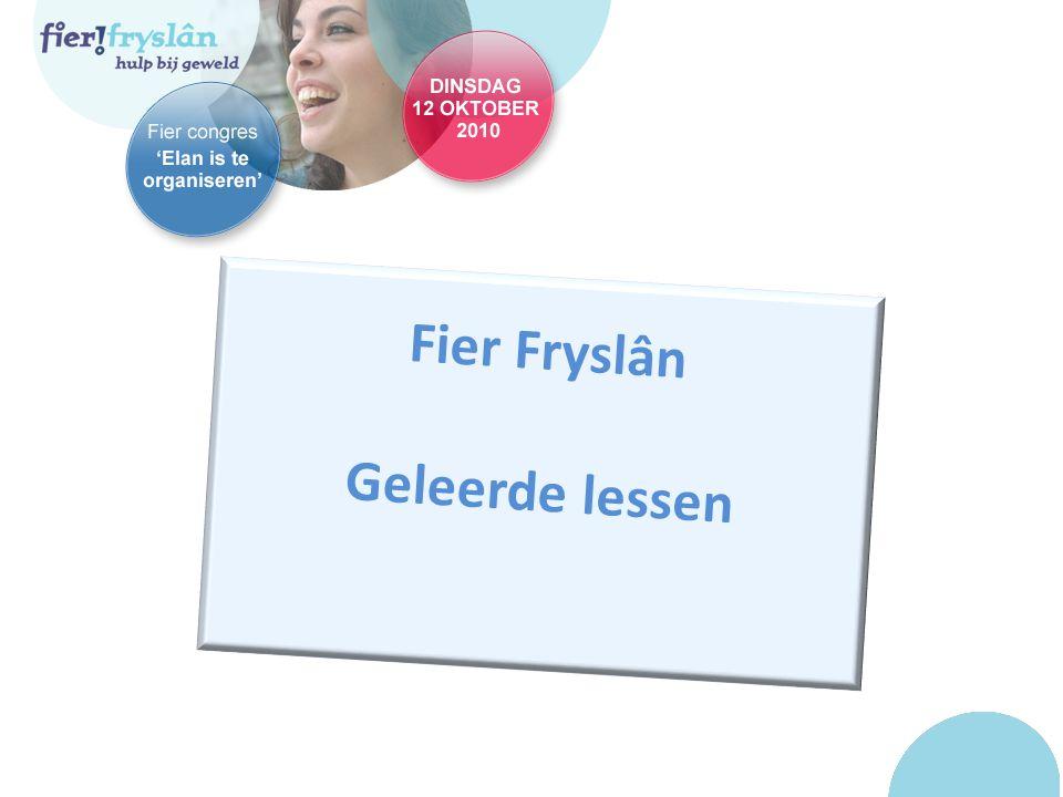 Fier Fryslân Geleerde lessen