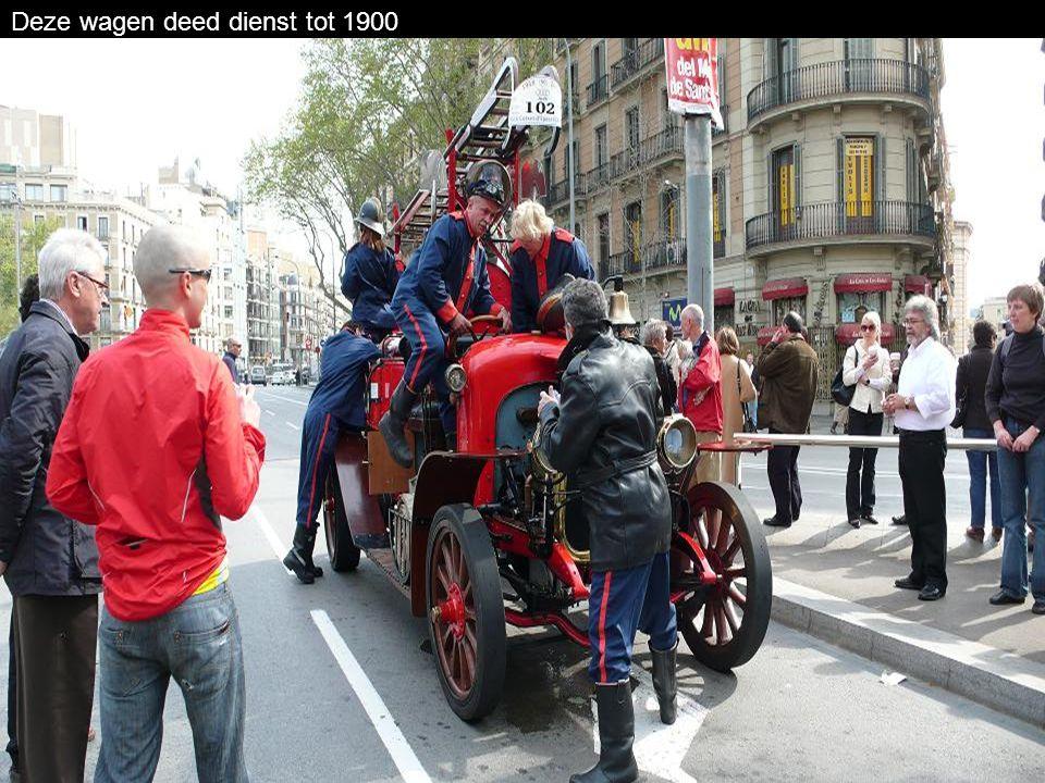 Deze nieuwe brandweerwagen was in 1924 van grote waarde voor menige steden.,