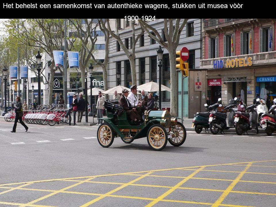Sinds 1959 heeft deze rally van Oldtimers plaats tussen Barcelona en Sitges.S