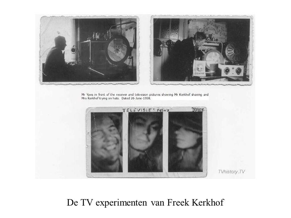 De TV experimenten van Freek Kerkhof