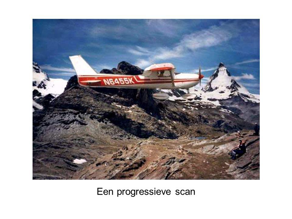 Een progressieve scan