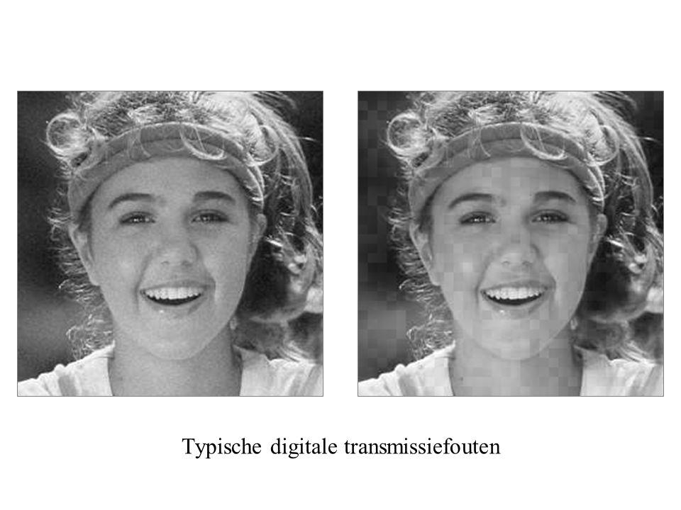 Typische digitale transmissiefouten