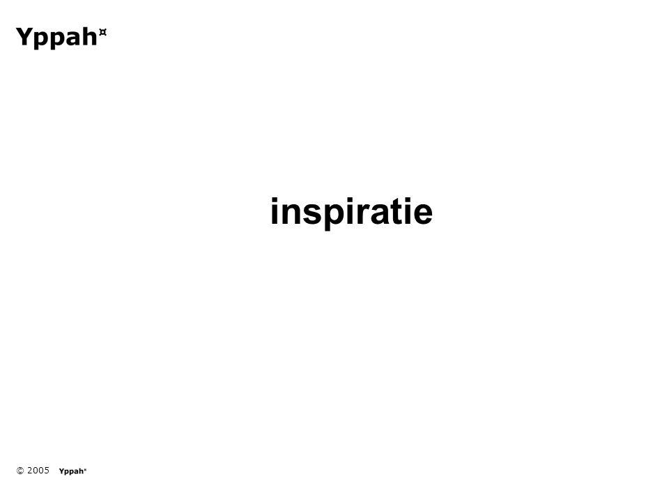 © 2005 inspiratie