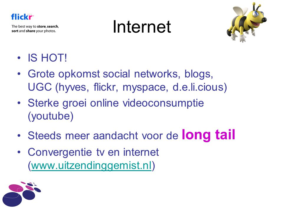 Internet •IS HOT.