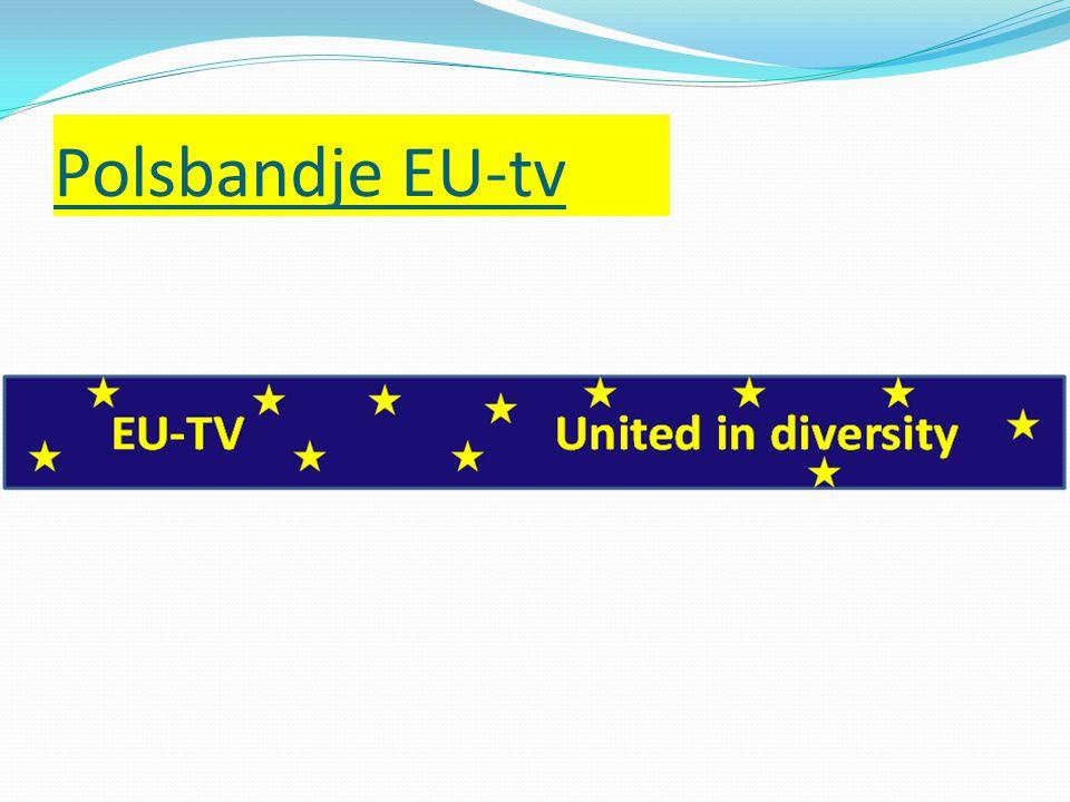 Polsbandje EU-tv