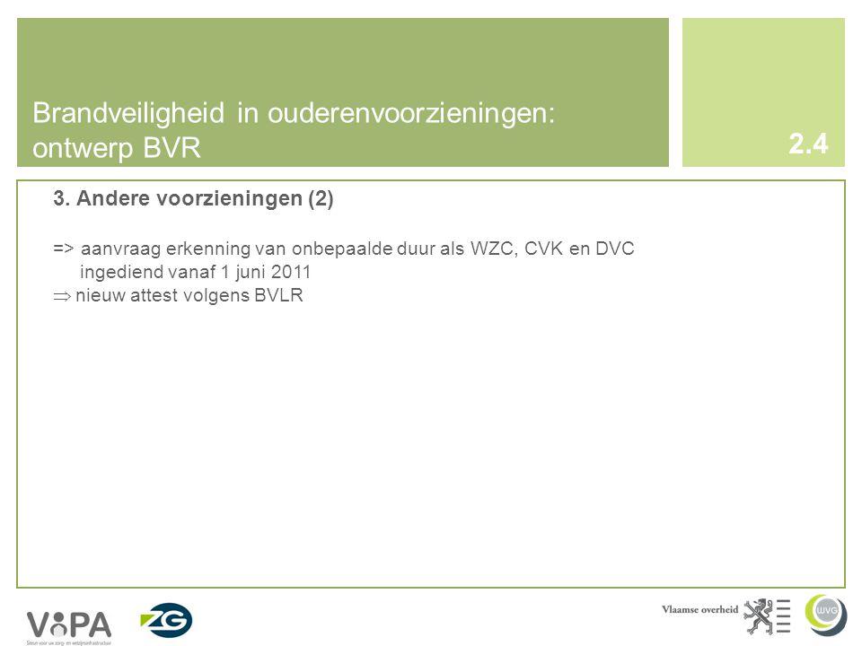 Brandveiligheid in ouderenvoorzieningen: ontwerp BVR 3.
