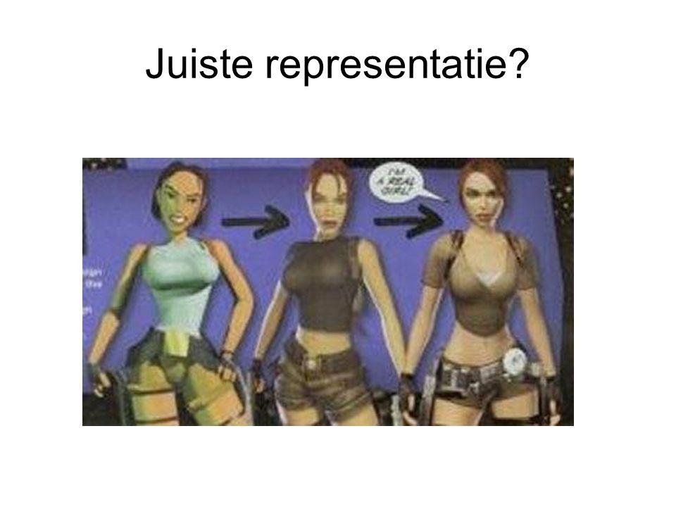 Juiste representatie?