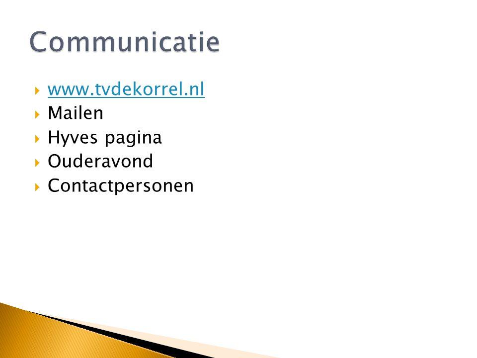  Goede communicatie  Veilige omgeving  Voldoende aanwas aan de basis  Doelgroep gerichte trainingen  Goed afgestemd activiteiten programma  Maxi