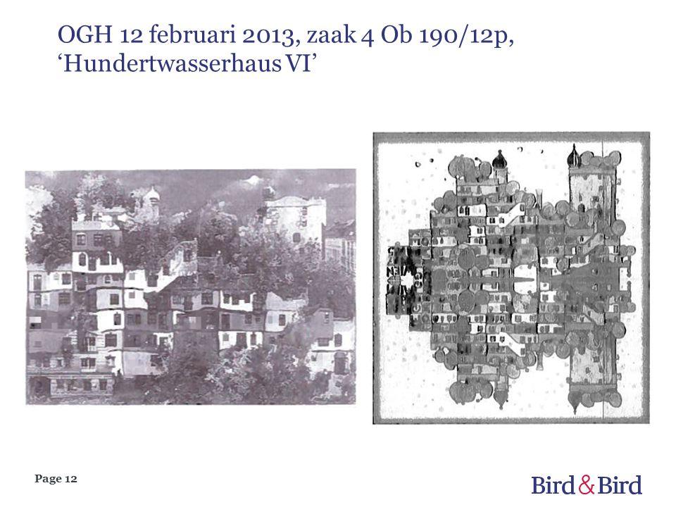 Page 12 OGH 12 februari 2013, zaak 4 Ob 190/12p, 'Hundertwasserhaus VI'