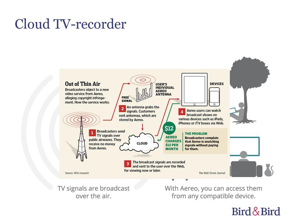 Cloud TV-recorder
