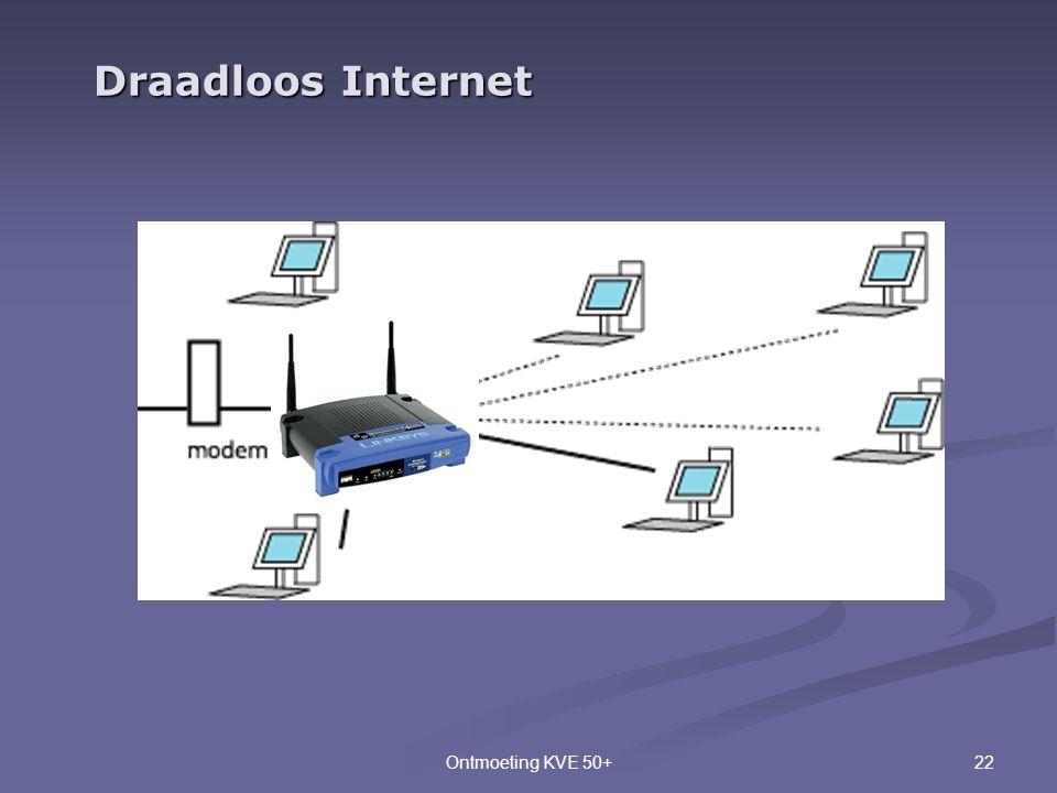 22Ontmoeting KVE 50+ Draadloos Internet