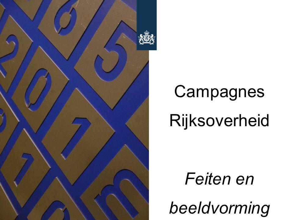 Campagnes Rijksoverheid Feiten en beeldvorming Wim van der Noort & Daniëlle Koning