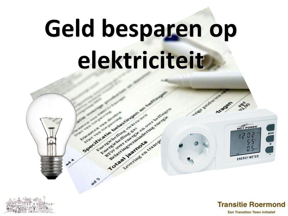 3 Programma: 1) Elektriciteit: van vermogen naar energieverbruik 2) De energierekening 3) Meten is weten 4) Besparen op elektriciteit 5) Zelf elektriciteit produceren