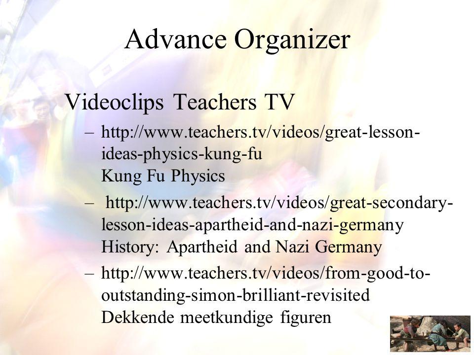 Verken en vooral participeer in de community of practce van Klascement (http://www.klascement.net/).
