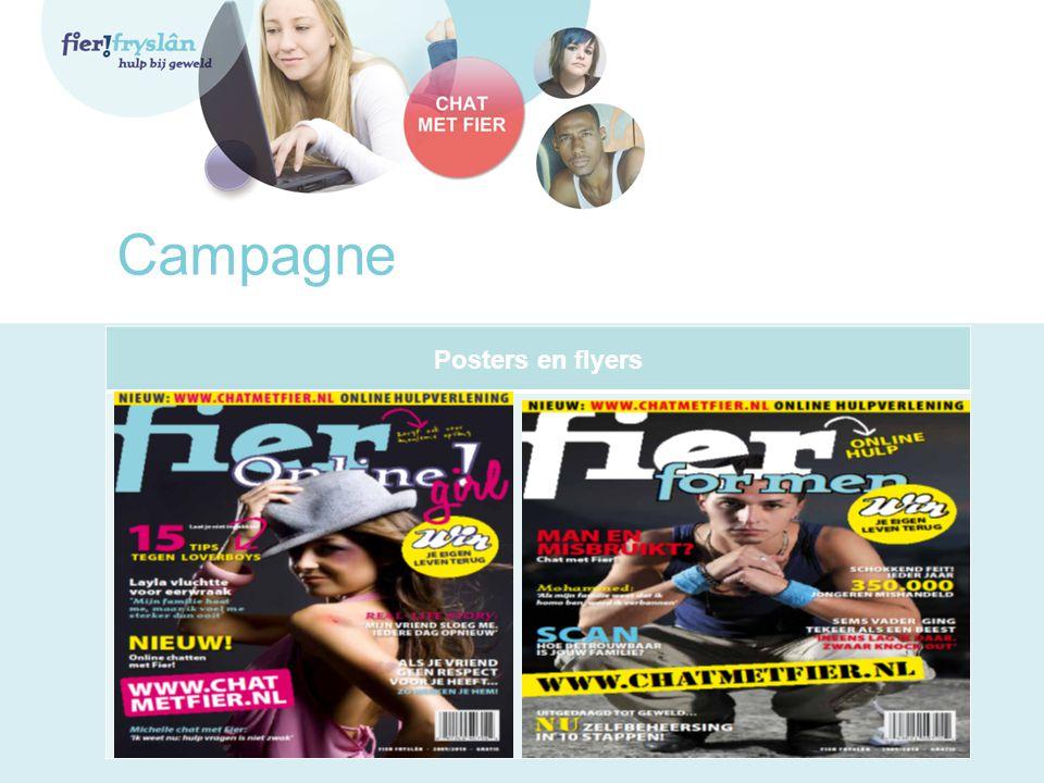 Campagne Posters en flyers