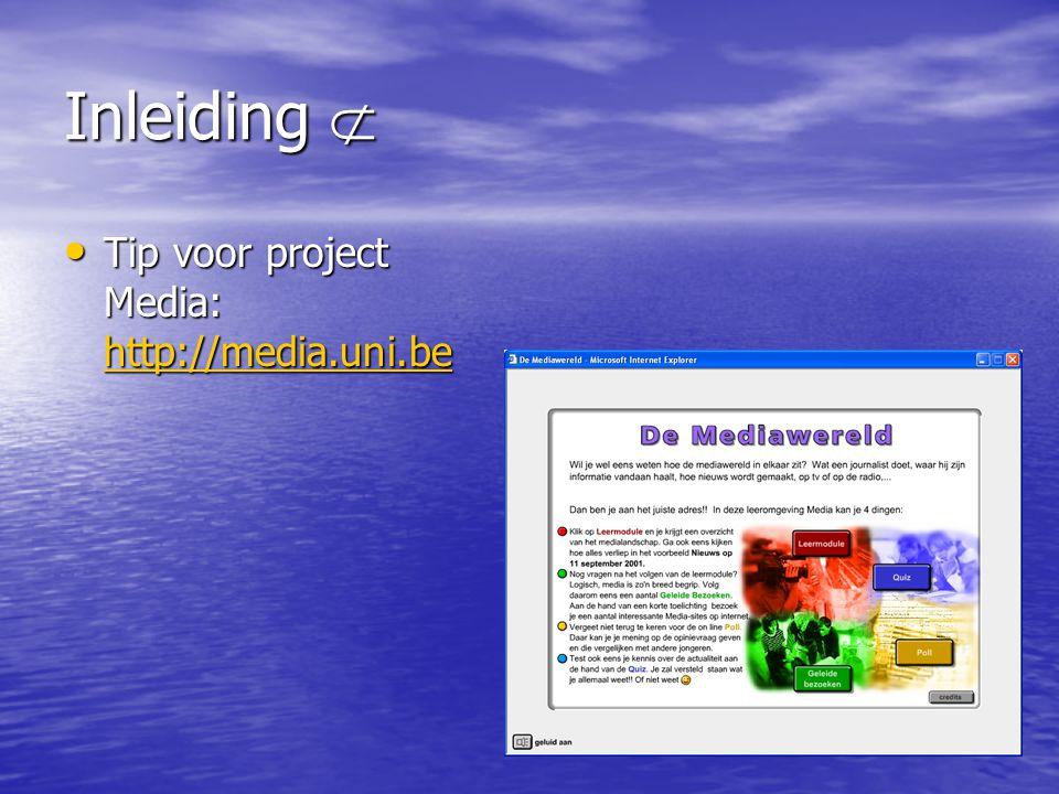 Inleiding  • Uniform OPR-stages: –Contact met E5-mode: • Hans De Lee • Projectmanager New Business • Tel.