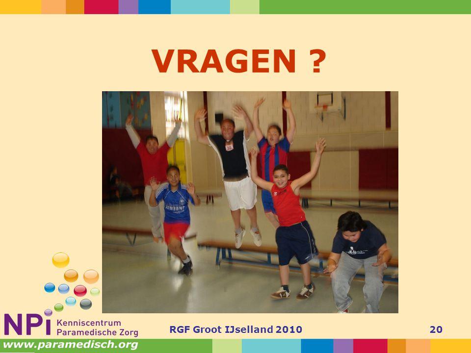 RGF Groot IJselland 201020 VRAGEN ?