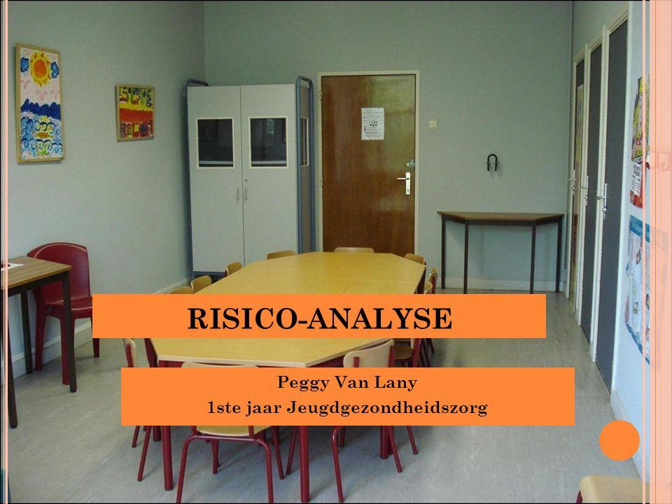 RISICO-ANALYSE Peggy Van Lany 1ste jaar Jeugdgezondheidszorg