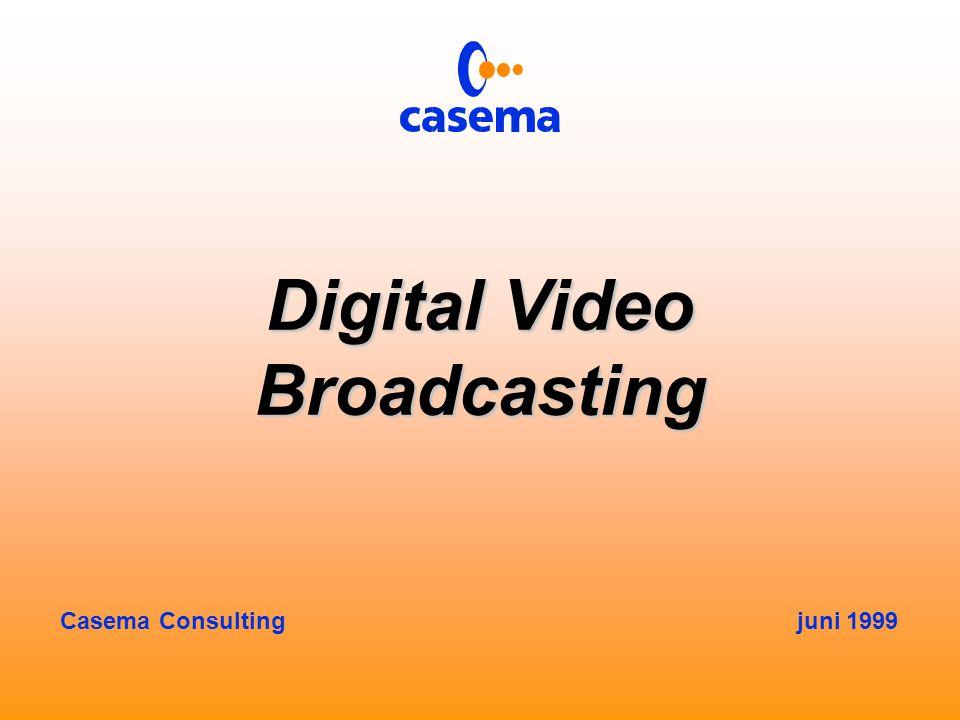 Wat wordt bij DVB gebruikt.
