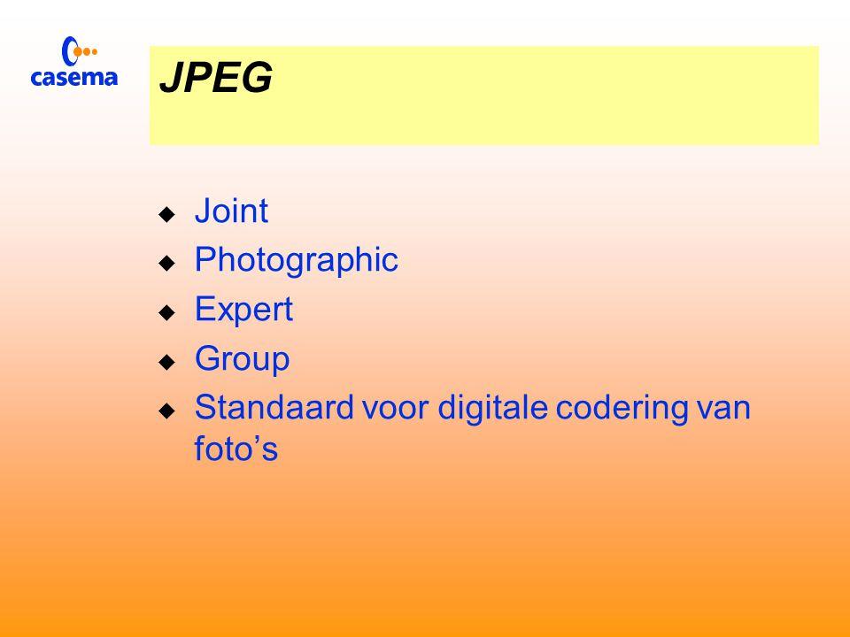 Internationale standaards Beeldcodering