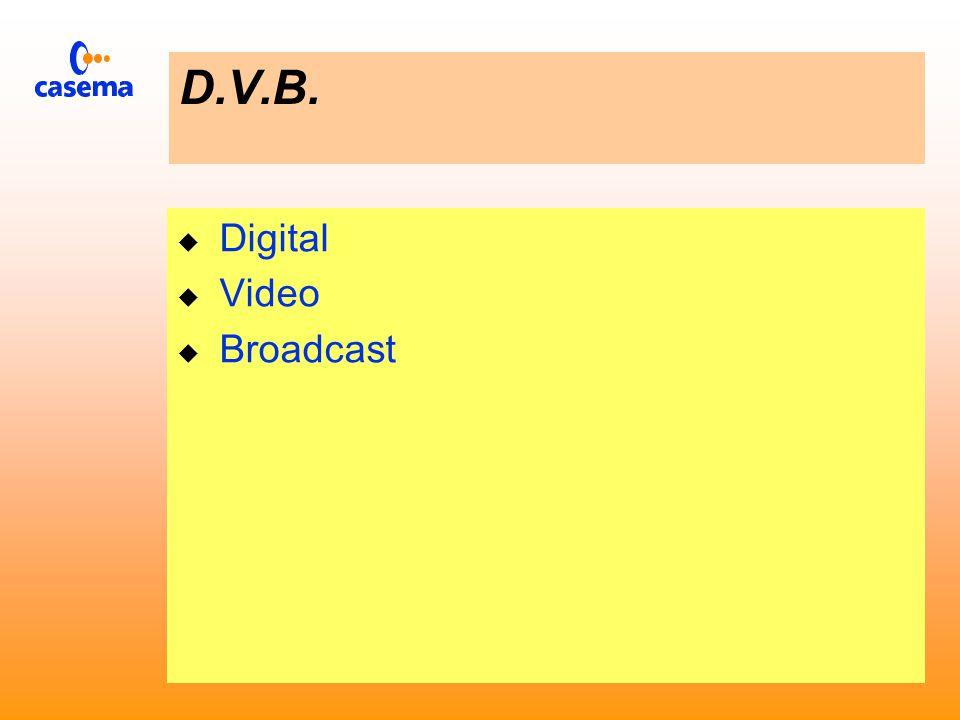 D.V.B. Casema in het digitale tijdperk