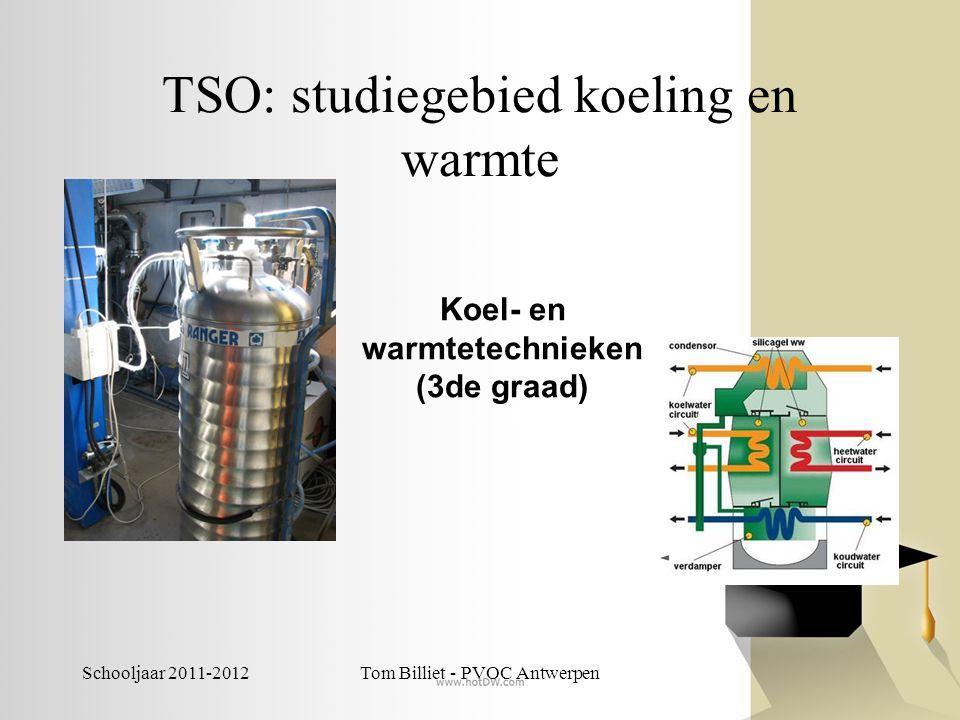Schooljaar 2011-2012Tom Billiet - PVOC Antwerpen TSO: Land- en tuinbouw -Biotechnische wetenschappen -Plant-, dier- en milieutechnieken -Dier- en landbouwtechnische wetenschappen -Planttechnische wetenschappen -Natuur- en groentechnische wetenschappen
