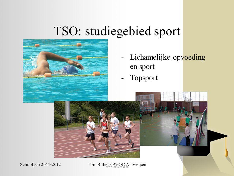 Schooljaar 2011-2012Tom Billiet - PVOC Antwerpen TSO: studiegebied tandtechnieken Tandtechnieken (3de graad)