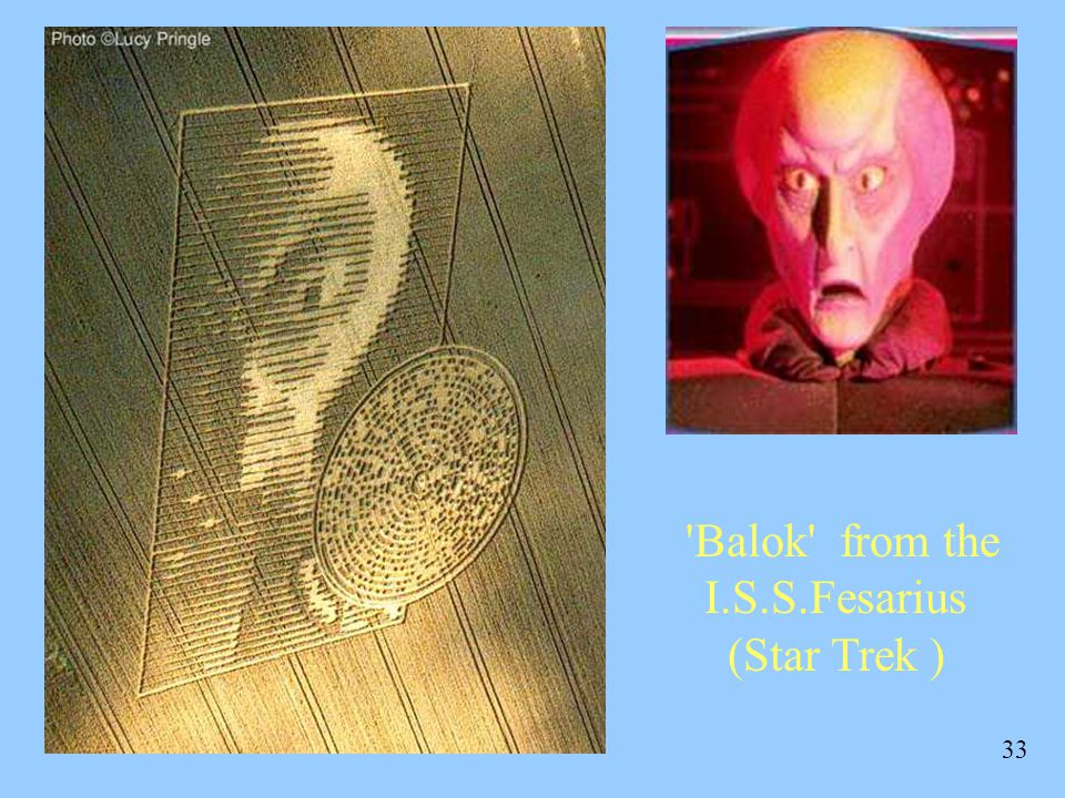 33 Balok from the I.S.S.Fesarius (Star Trek )