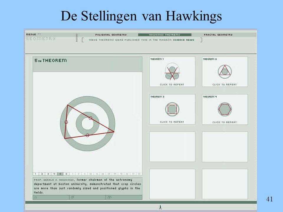 41 De Stellingen van Hawkings