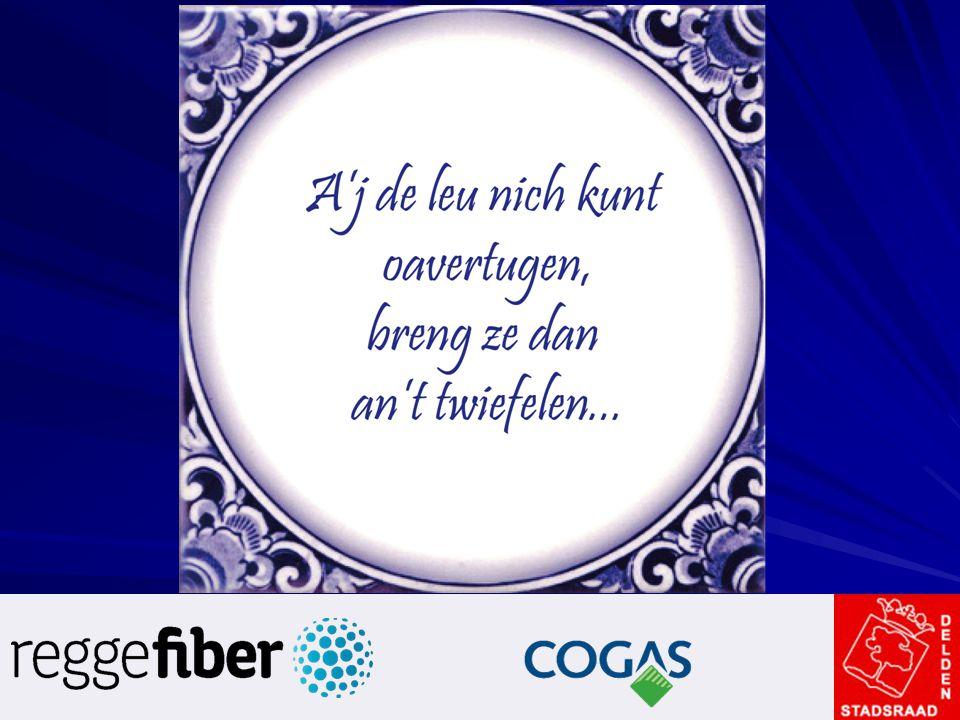 Vraag 08 Cogas verhuurt nu de kabel alleen aan Ziggo.