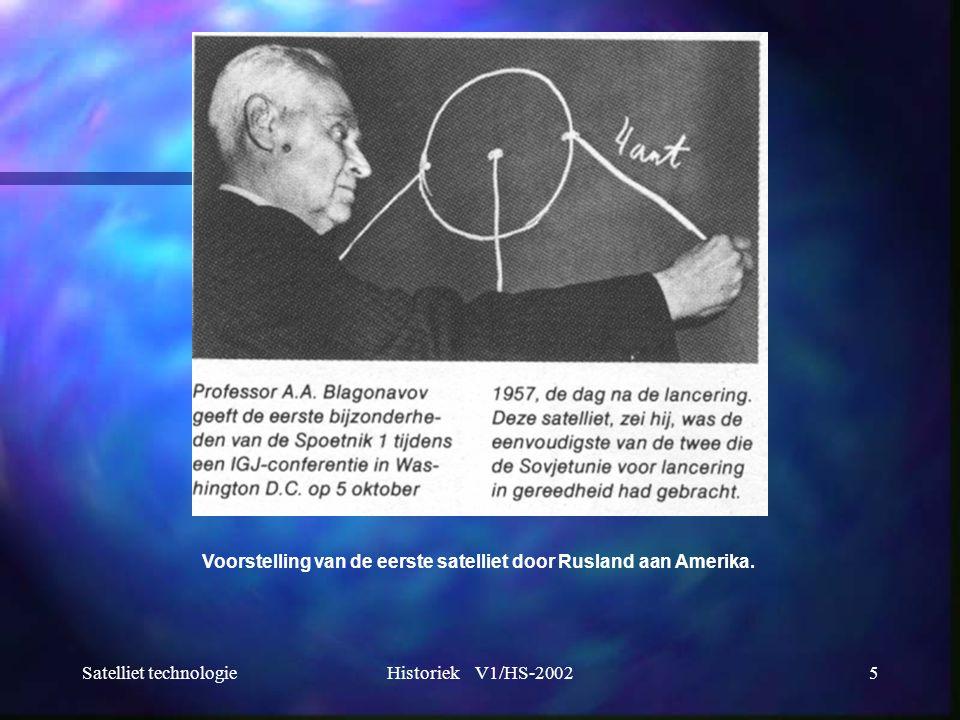 Satelliet technologieHistoriek V1/HS-200216 1986: De Europese gemeenschap publiceert de richtlijn waarbij de MAC- norm verplicht wordt als satelliet televisienorm.