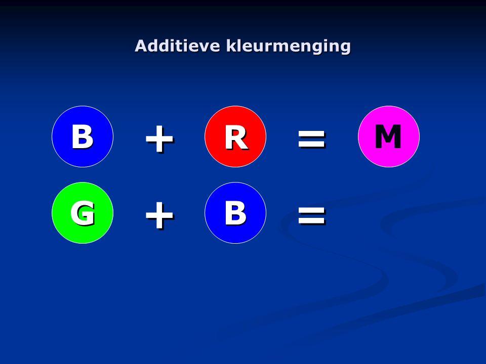 R R B B G GM B B + + + + = = = =