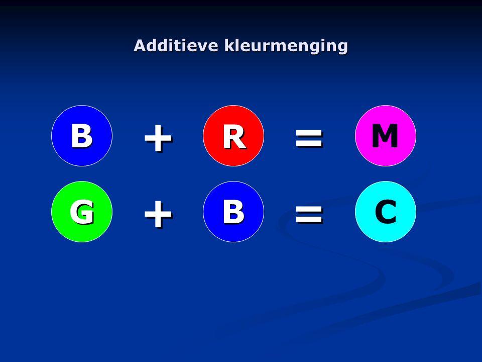 R R B B G GMC B B + + + + = = = =