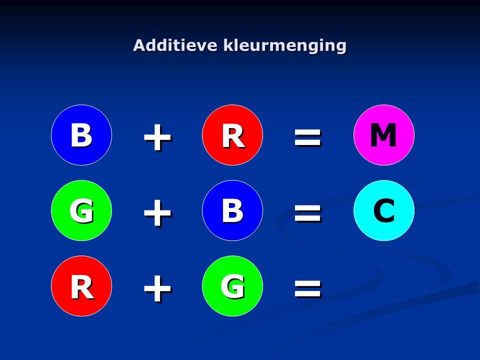 R R B B G GMC B B R R G G + + + + + + = = = = = =