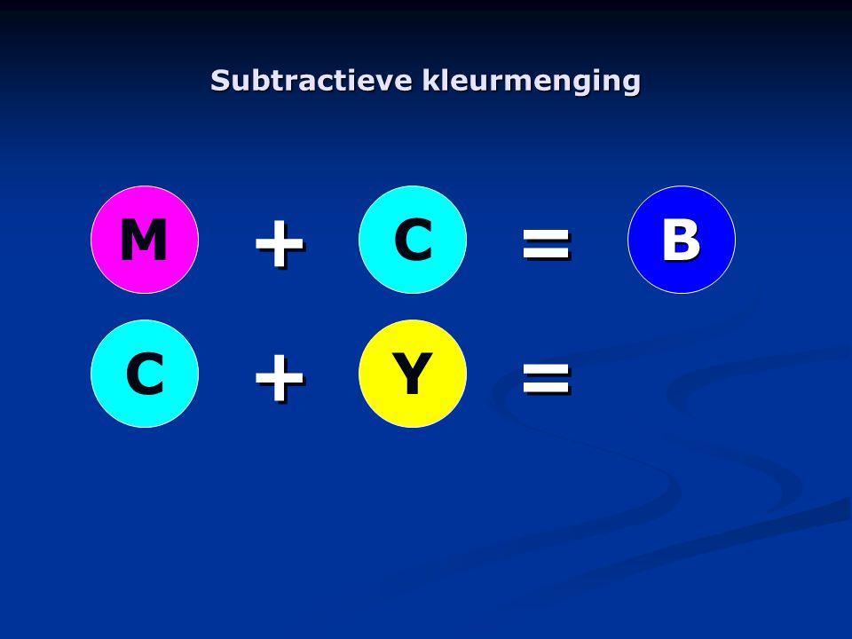 YC + + + + = = = = MC B B