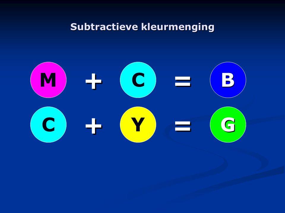 YC + + + + = = = = MC B B G G