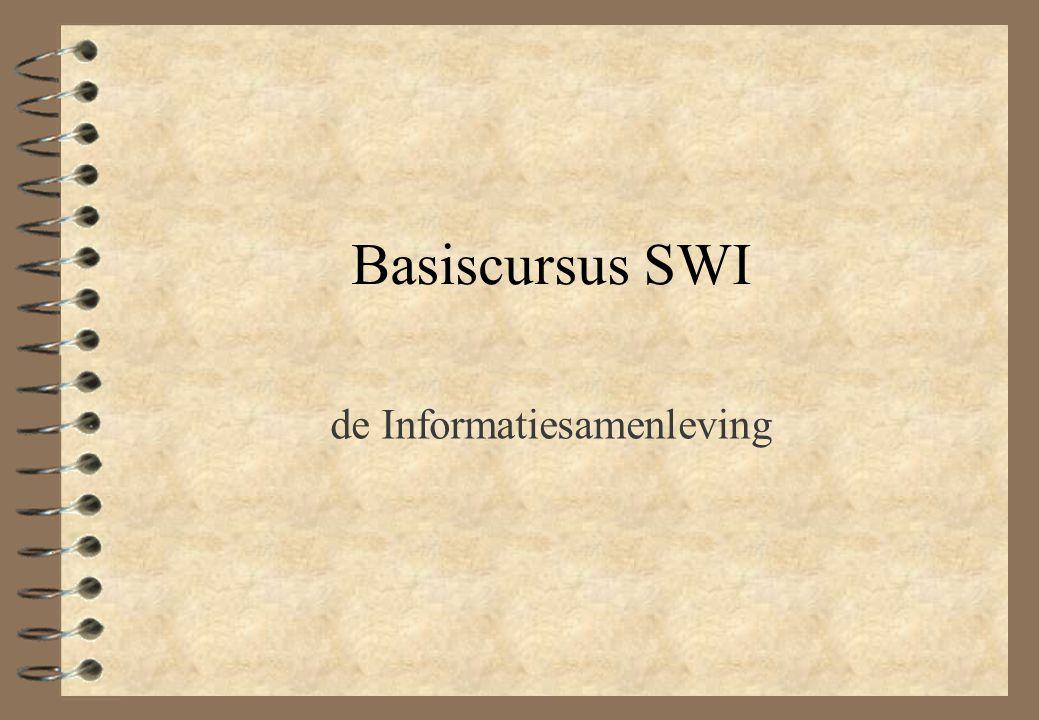 Basiscursus SWI de Informatiesamenleving