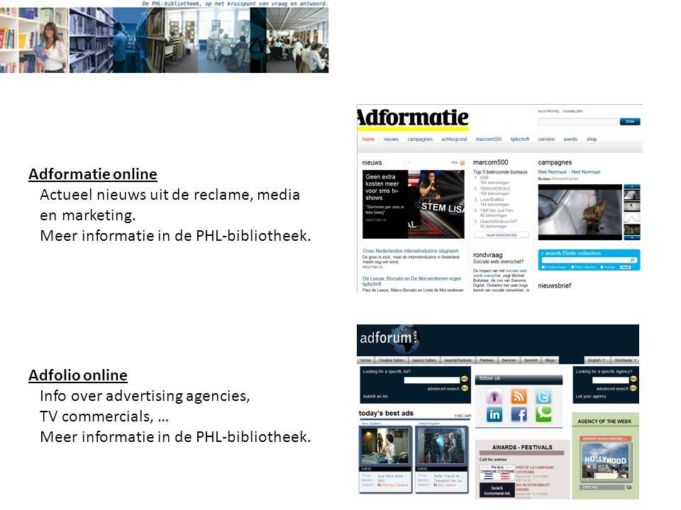 Adformatie online Actueel nieuws uit de reclame, media en marketing.