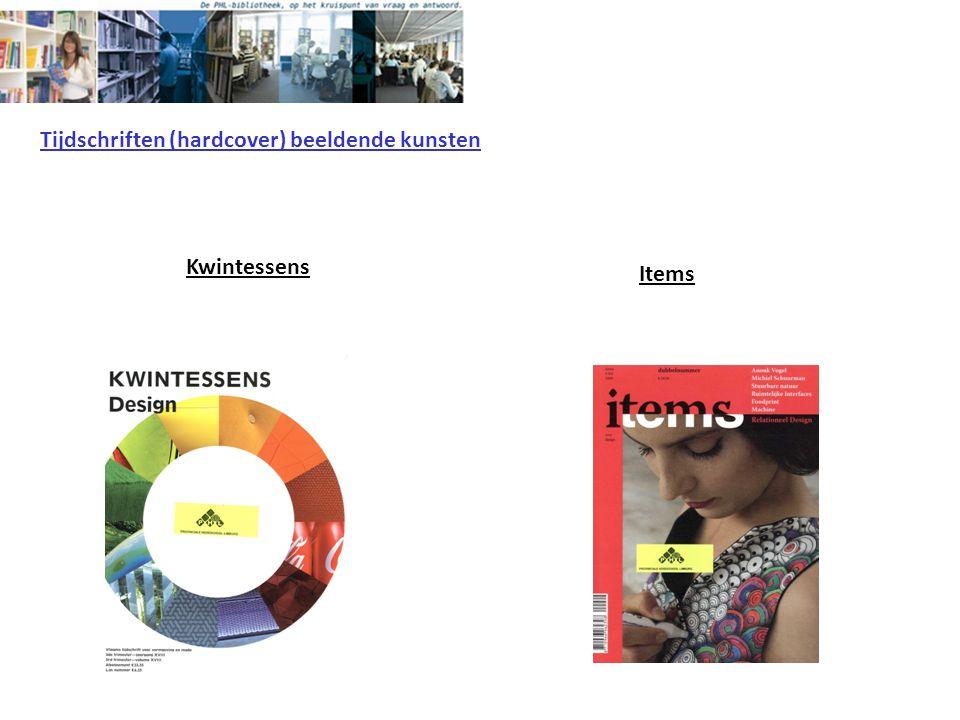 Kwintessens Tijdschriften (hardcover) beeldende kunsten Items
