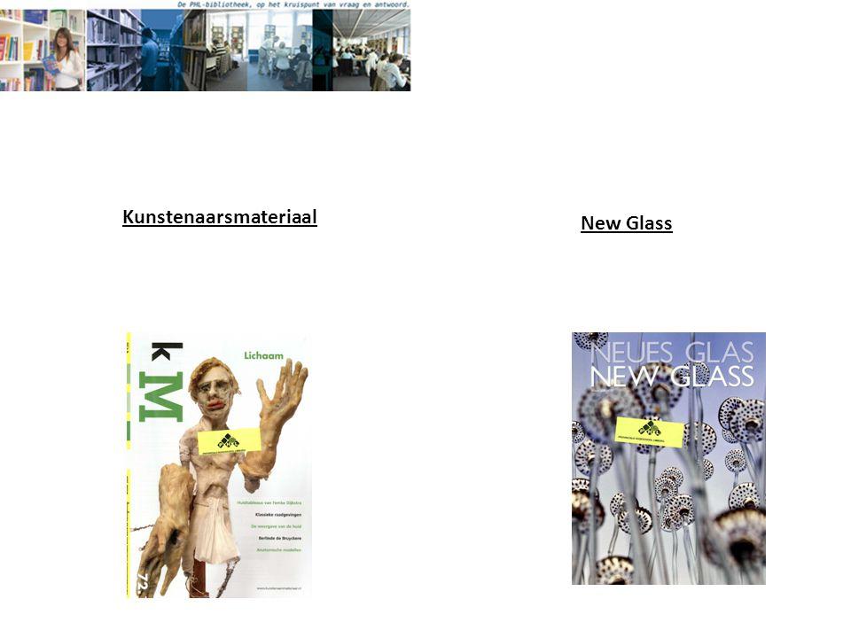 New Glass Kunstenaarsmateriaal