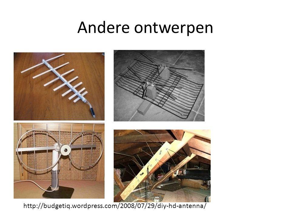 Andere ontwerpen http://budgetiq.wordpress.com/2008/07/29/diy-hd-antenna/