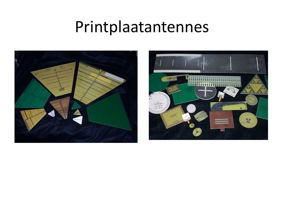 Printplaatantennes