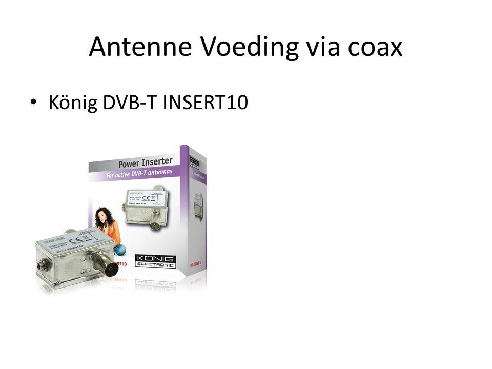 Antenne Voeding via coax • König DVB-T INSERT10