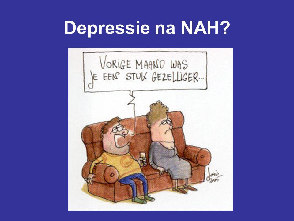 Depressie na NAH?