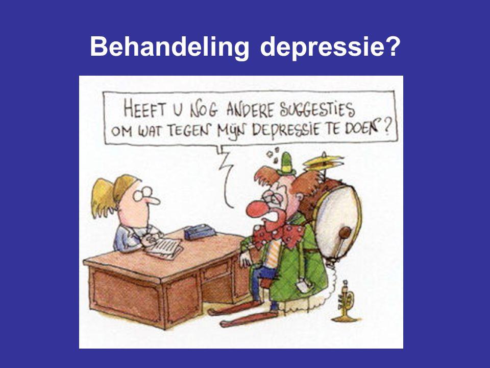 Behandeling depressie?