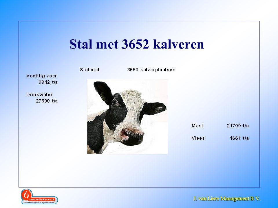 J. van Liere Management B.V. J. van Liere Management B.V. Stal met 3652 kalveren