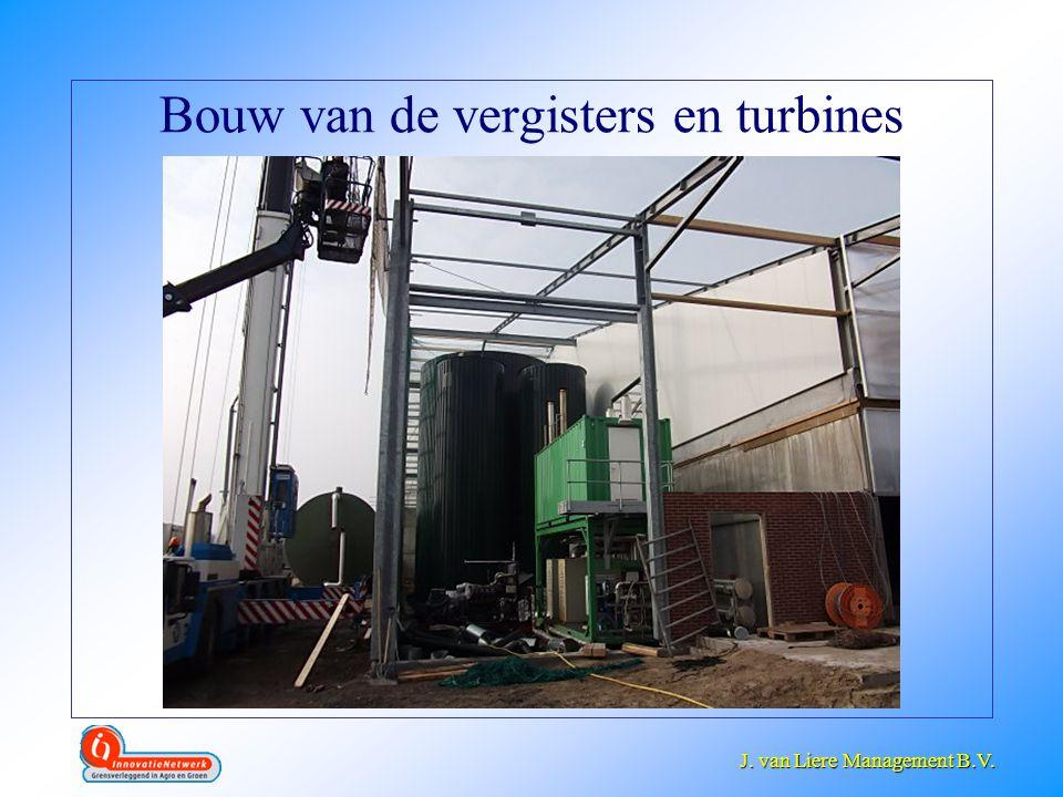 J. van Liere Management B.V. J. van Liere Management B.V. Bouw van de vergisters en turbines