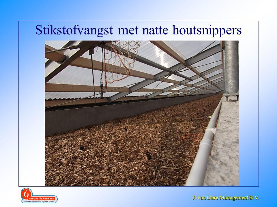 J. van Liere Management B.V. J. van Liere Management B.V. Stikstofvangst met natte houtsnippers