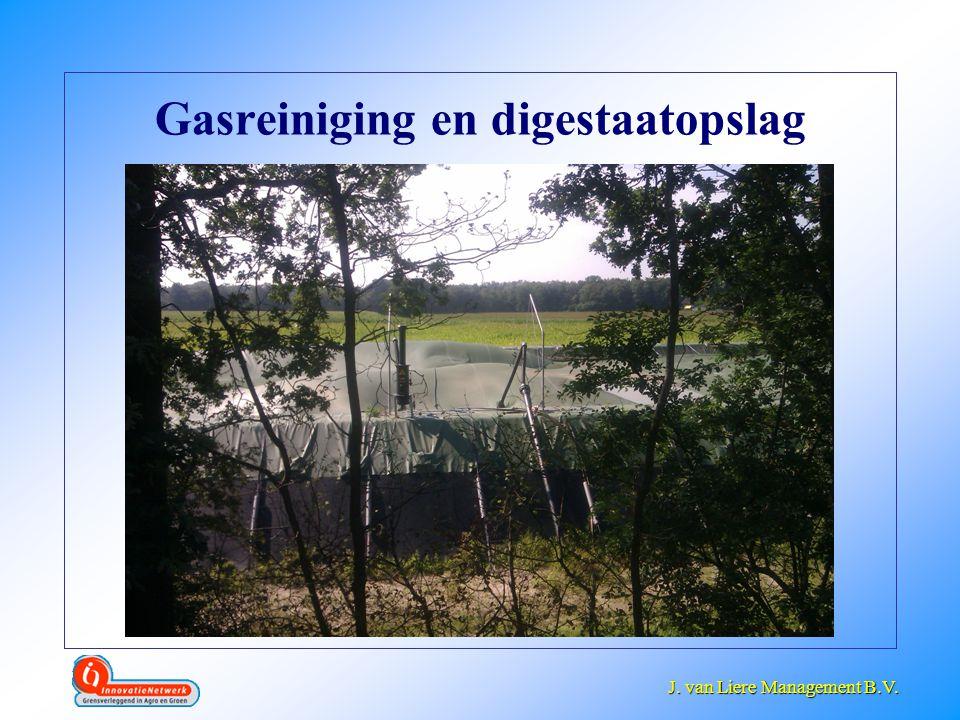 J. van Liere Management B.V. J. van Liere Management B.V. Gasreiniging en digestaatopslag
