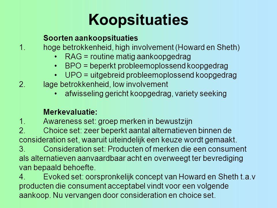 Opdracht Noem per soort referentiegroep voorbeelden van producten die overgenomen zijn door een ruimer publiek